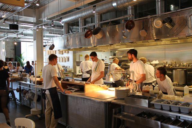 Grain store el ltimo proyecto de bruno loubet en londres for Proyecto cocina restaurante