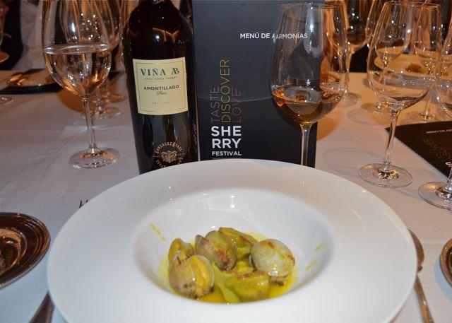 Armon a en el sherry festival con antonio flores ams - Restaurante solera gallega ...