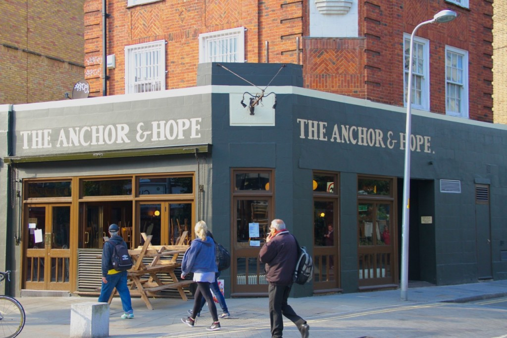 THE ANCHOR & HOPE - 1