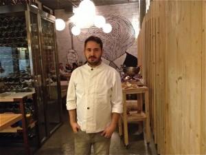 Chef Antonio Caramé. Restaurante Seis Ocho. Blog Esteban Capdevila