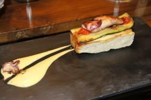 Pizza de Chipirón de Bahía Taberna