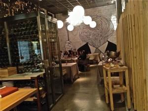 Restaurante seis Ocho de Madrid. Blog Esteban Capdevila