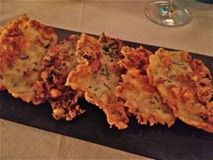 Tortillas de Bacalao y Langostinos del Rest. Seis Ocho. Blog Esteban Capdevila