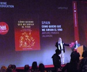 Mejor Libro Publicado en el Mundo en 2012 sobre el Servicio y la Comunicación del Vino