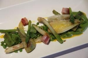 verduras en el Restaurante Dámaso. Blog Esteban Capdevila