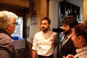 Juanjo Miguel Ángel, Almudena y Pablo. Blog Esteban Capdevila