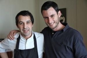 Javier Olleros y Rubén Valbuena. Blog Esteban Capdevila