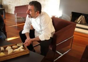 Pepe Solla en su restaurante. Blog Esteban Capdevila