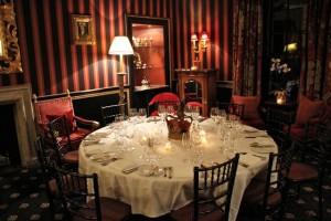 Sala privada Restaurante Rhubarb. Blog Esteban Capdevila