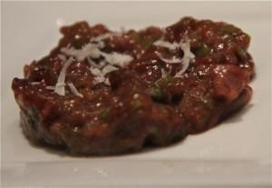 Steak tartar de Ganso Ibérico de Dehesa. Blog Esteban Capdevila