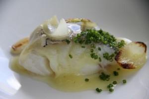 Bacalao con Cebolla, Cebollina y Cebolleta. Pepe Vieira. Blog Esteban Capdevila