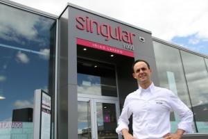 Iñigo Lavado en Singular Food. Blog Esteban Capdevila