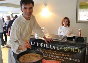 LA TORTILLA DE SENÉN EN LA POSADA DE EL CHAFLAN. BLOG ESTEBAN CAPDEVILA