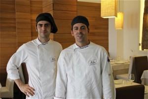 Chefs Miguel Espí y J. Carlos González.Blog Esteban Capdevila