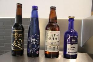 Cervezas y sake japonés en Yugo. Blog Esteban Capdevila