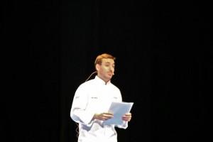 CHEF CÉSAR GARCÍA DEL REST. IBÉRICA DE LONDRES. BLOG ESTEBAN CAPDEVILA