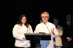 CHRISTIAN ESCRIBÁ Y SU MUJER EN SAN SEBASTIAN GASTRONOMIKA 2013