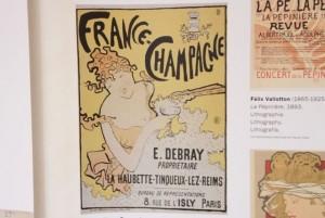 Cartel Champagne de Toulouse-Lautrec de Albi. Blog Esteban Capdevila