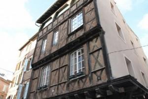 Casas medievales de ALBI, Francia. Blog Esteban Capdevila