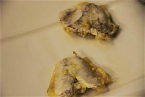 cocochas rebozadas del restaurante ELKANO. Blog Esteban Capdevila