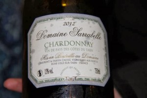 Domaine Sarrabelle 2012 Chardonnay. Blog Esteban Capdevila