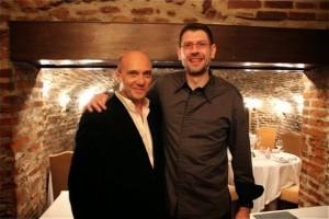 Esteban Capdevila y el Chef estrella Michelin David Enjalran. Blog Esteban Capdevila