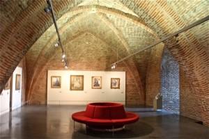 Interior sala Museo Toulouse-Lautrec de Albi. Blog Esteban Capdevila