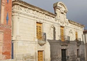 Fachada del Museo del Cerrato. Hospital Santo Tomás. Blog Esteban Capdevila