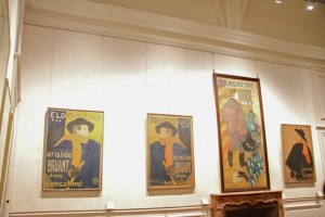 Carteles publicitarios en el Museo de Toulouse-Lautrec. Blog Esteban Capdevila