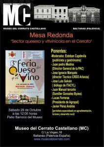 Mesa Redonda en Baltanás. Blog Esteban Capdevila