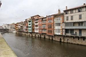 Río Tarn a su paso por Castres en Francia. Blog Esteban Capdevila