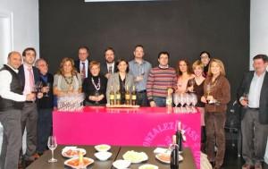 Catadores en Madrid de los finos Palmas. Blog Esteban Capdevila