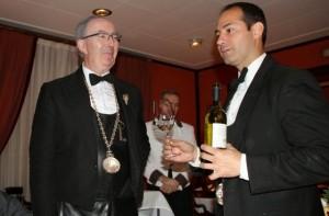 Custodio y Raúl en Zalacaín. Blog Esteban Capdevila