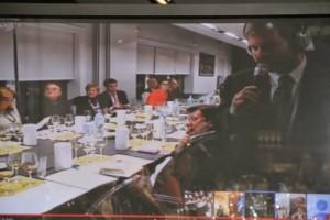 Juanma Terceño en la presentación de Finos Palmas 2013. Blog Esteban Capdevila