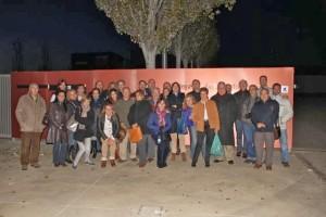 Sumilleres de la AMS en la Bodega Habla. Blog Esteban Capdevila