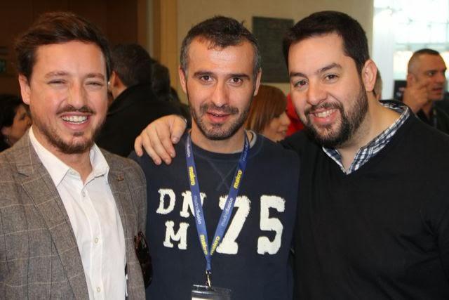 Alejandro Matanzo, Toni Canales y Julián Mármol. Blog Esteban Capdevila