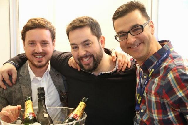 Alejandro Matanzo, Julián Mármol y Fernando F. Mendieta. Blog Esteban Capdevila