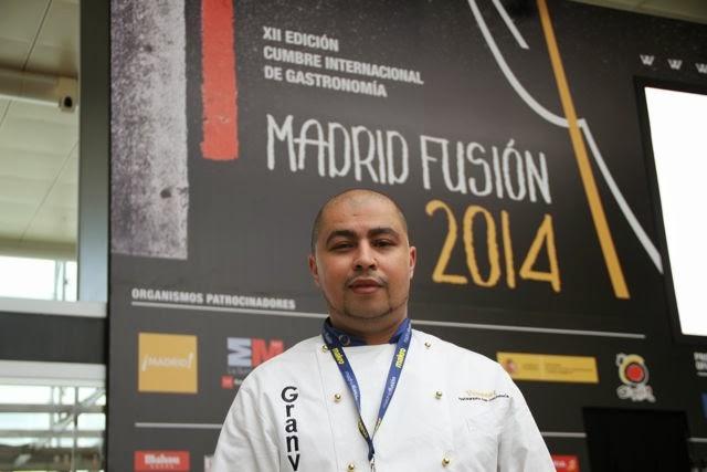 Chef Youssef Zairi en Madrid Fusión. Blog Esteban Capdevila