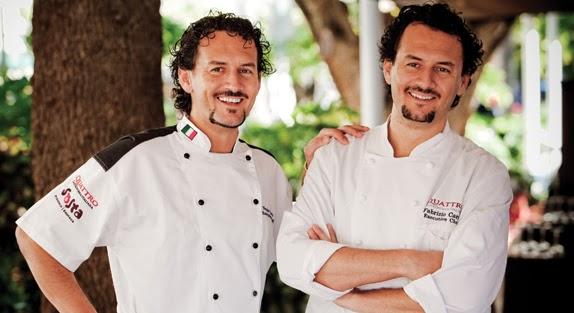Chefs Nicola y Fabrizio Carro. Blog Esteban Capdevila