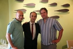 Esteban Capdevila, Juan Ruiz y Juanma Terceño. Blog Esteban Capdevila