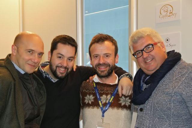 Esteban Capdevila, Julián Márml, Nacho Manzano y Juanjo Moreno. Blog Esteban Capdevila