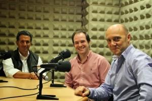 Esteban Capdevila, Jonatán y Miguel Ángel García Marinelli