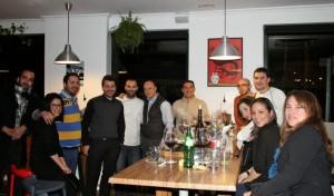 En Bahía Taberna en Madrid Fusión chefs y amigos. Blog Esteban Capdevila