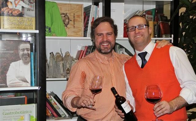 Juanma Terceño e Isaac de Palio. Blog Esteban Capdevila