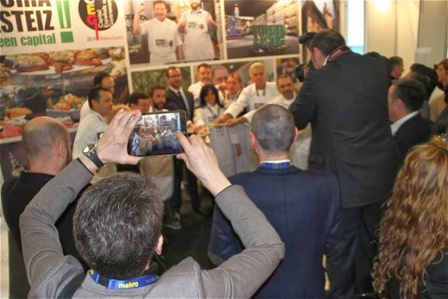 chefs en Madrid Fusión. Blog Esteban Capdevila