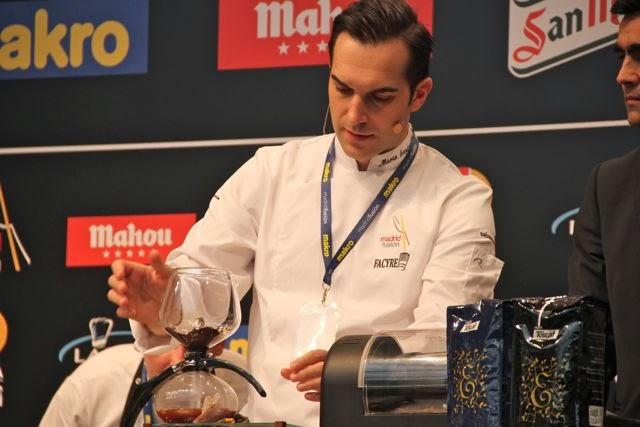 Mario Sandoval en Madrid Fusión. Blog Esteban Capdevila