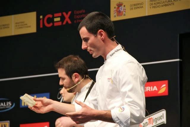 Ser o no ser, Rubén Valbuena en Madrid Fusión. Blog Esteban Capdevila