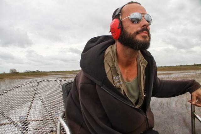 Umberto, guía de los Everglades. Blog Esteban Capdevila