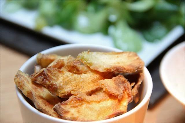 chips de alcachofa de los Roca. Blog Esteban Capdevila
