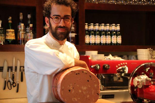 Chef Gianni Pinto. Blog Esteban Capdevila
